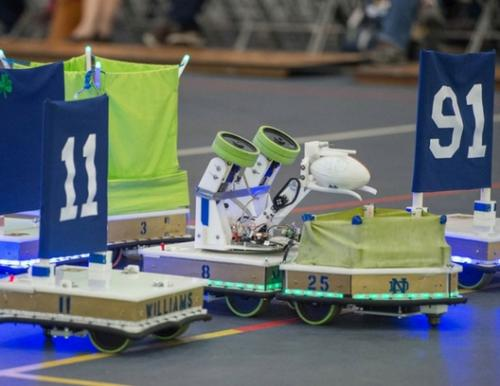 Robotic Football in action